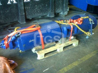10935 1 pc. Mechanical Two Rope Tube/ Pile Grab