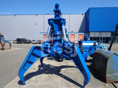 14519 1 Pc. Heavy Duty Hydraulic Rock Handling Grab