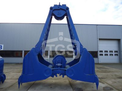 13102 1 Pc. Heavy Duty Mechanical Two Rope Roundnose Grab