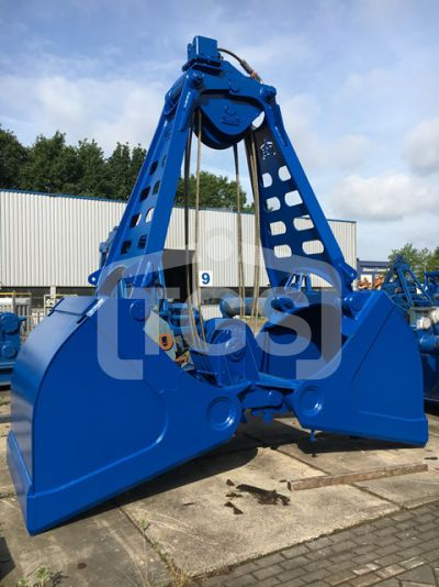 14997 1pc.  Mechanical Two Rope Clamshell Grab/ Dredging Grab