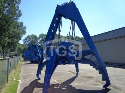 14694 1 Pc. Mechanical Two Rope Rock Handling Grab