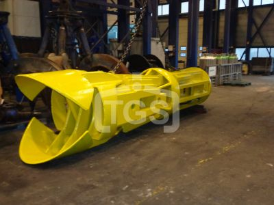 13130 1 pc. Heavy Duty Hydraulic Pile/ Tube Grab