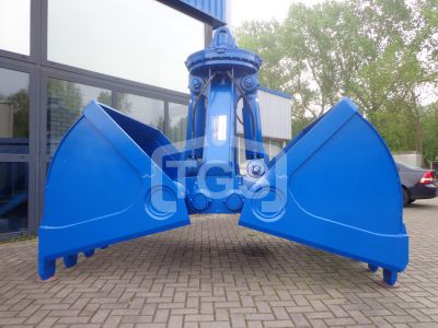 13404 1 pc. Heavy Duty Hydraulic Digging/ Dredging Clamshell Grab