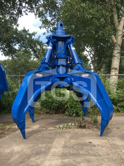 14109 1 Pc. Heavy Duty Hydraulic Rock Handling Grab