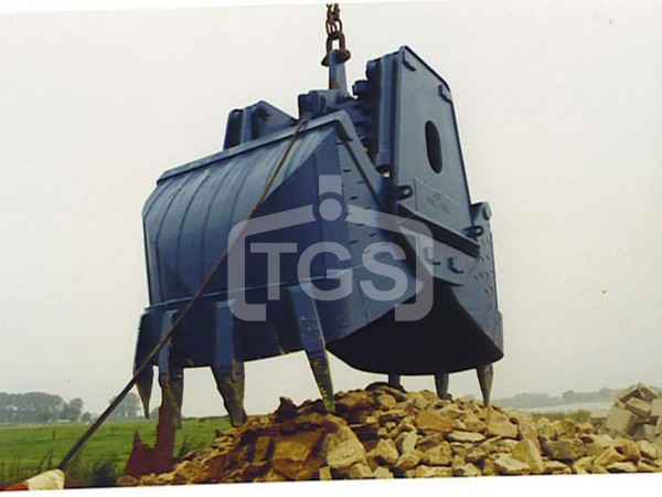 Electro Hydraulic Roundnose Grabs