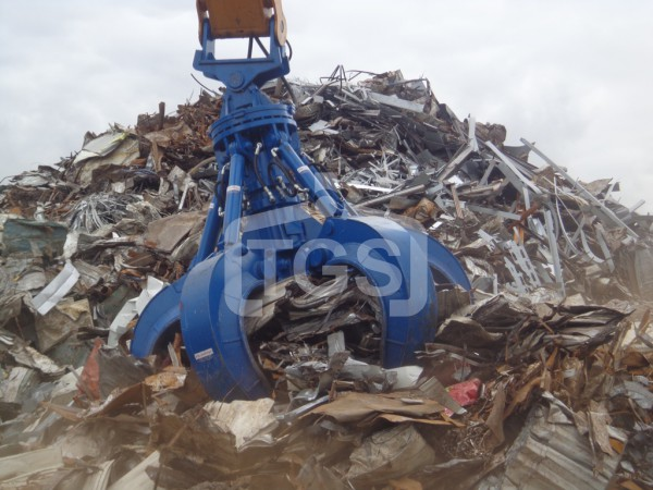 Hydraulic Orange Peel Scrap Grabs
